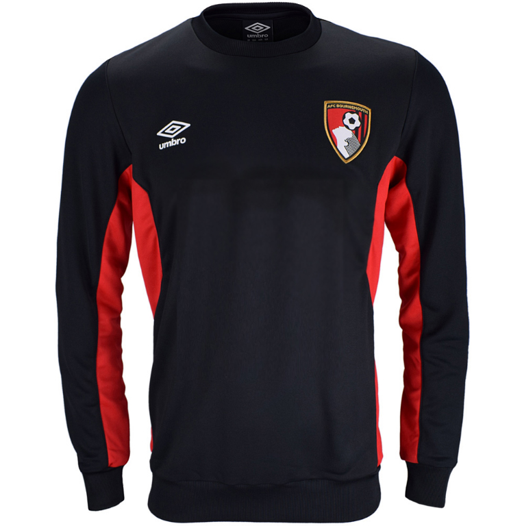 AFC BOURNEMOUTH 17/18 TRAINING SWEAT TOP