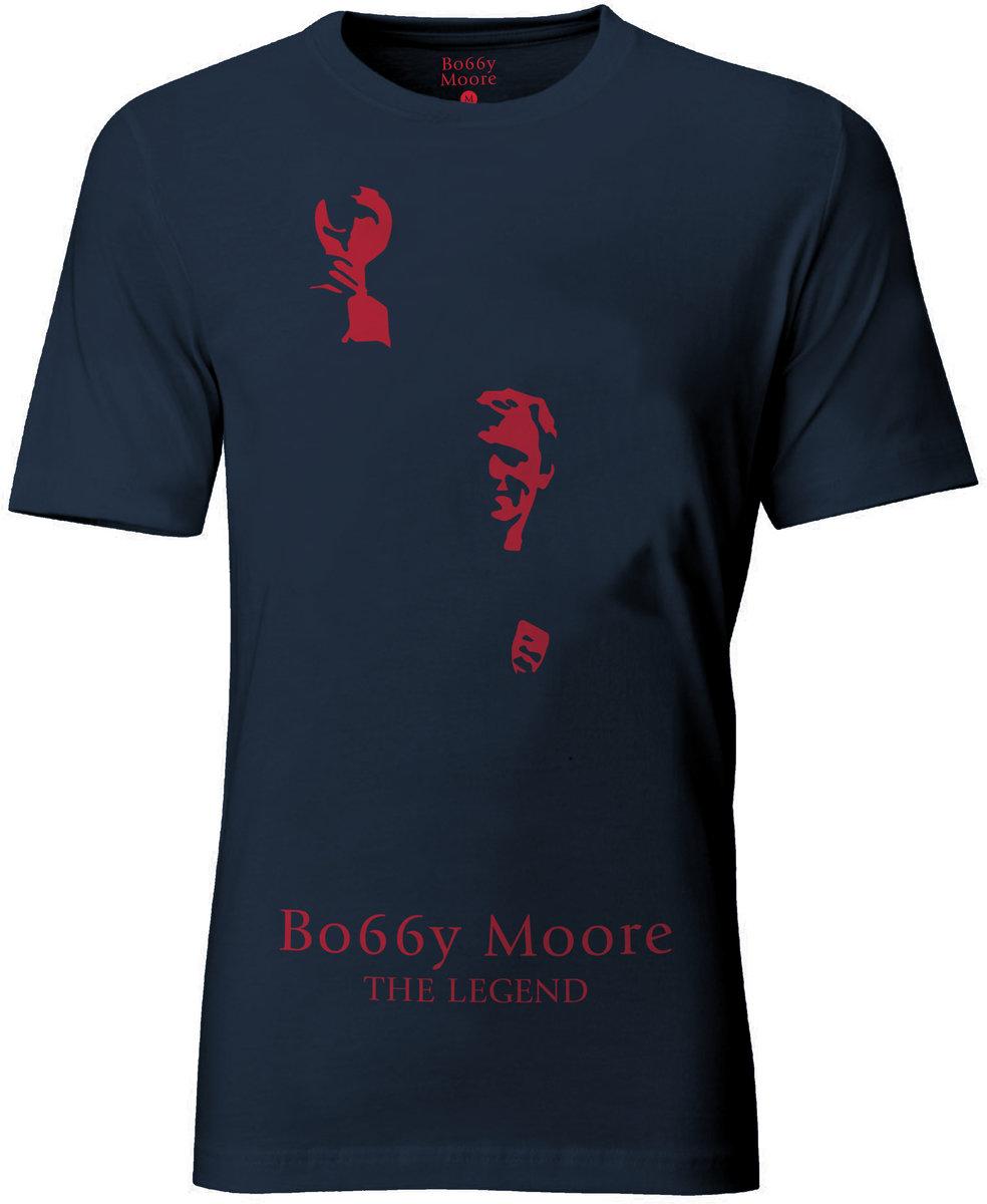 Black umbro t shirt - Bobby Moore T Shirt Thumbnail