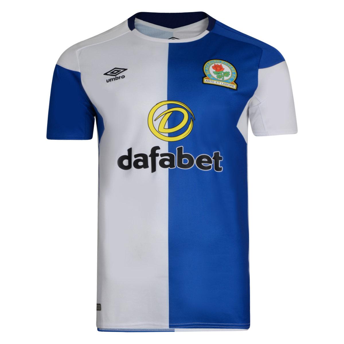 755e7dcca1a Umbro Blackburn Rovers Mens SS Home Shirt 2017 18 Image