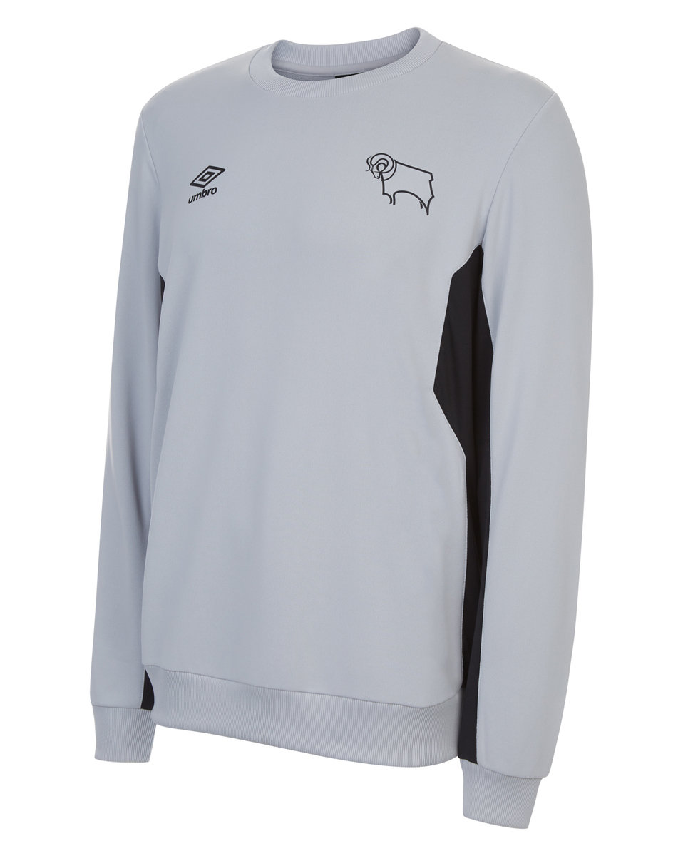 DERBY COUNTY 17/18 TRAINING SWEAT TOP