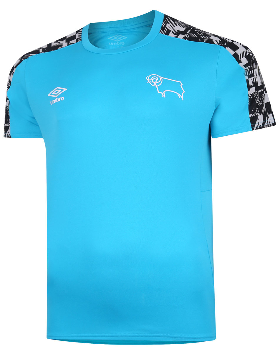DERBY COUNTY 20/21 TRAINING JERSEY JUNIOR