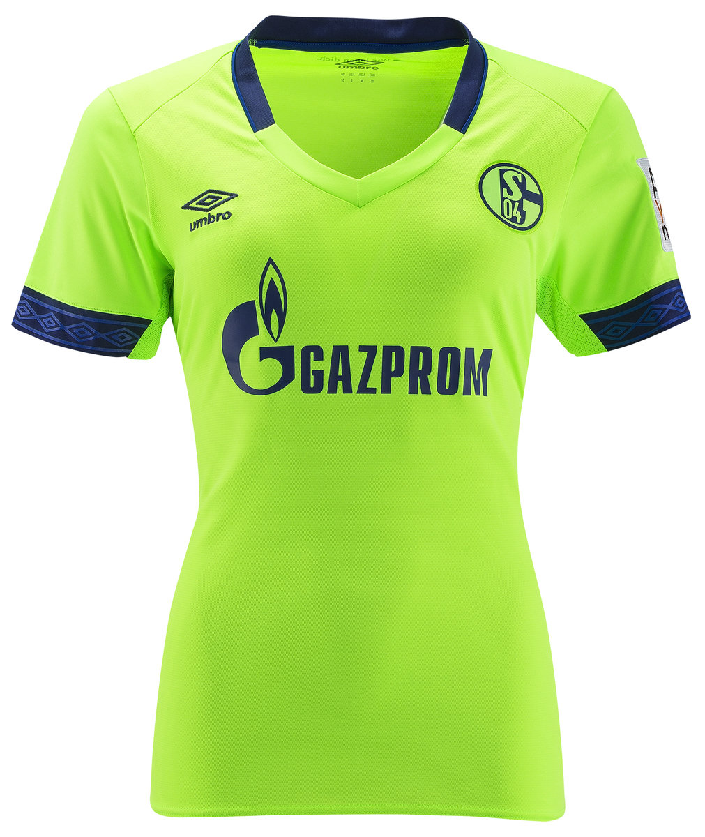 FC SCHALKE 04 18 19 WOMENS THIRD JERSEY Official Licensed Product ff2d25db9