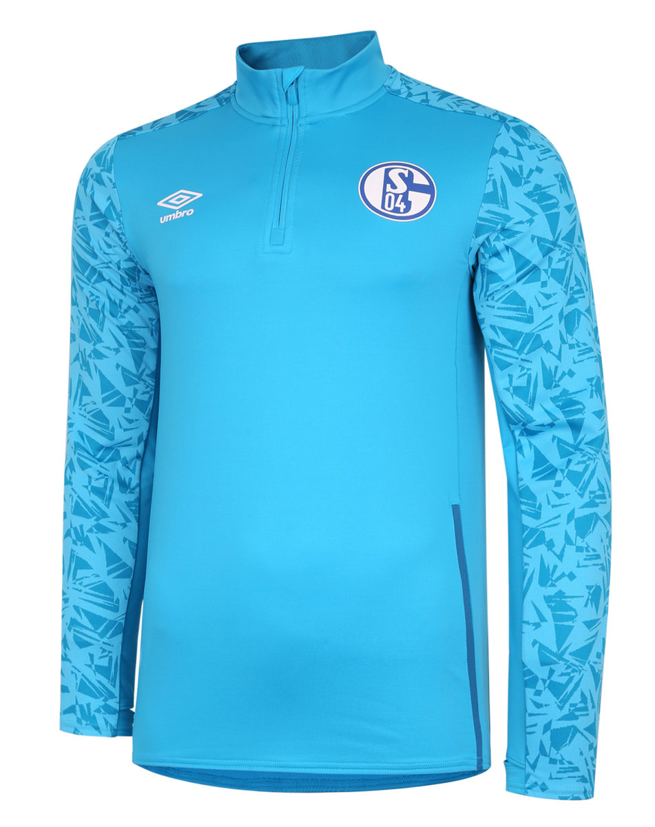 FC SCHALKE 04 20/21 HALF ZIP TOP JUNIOR