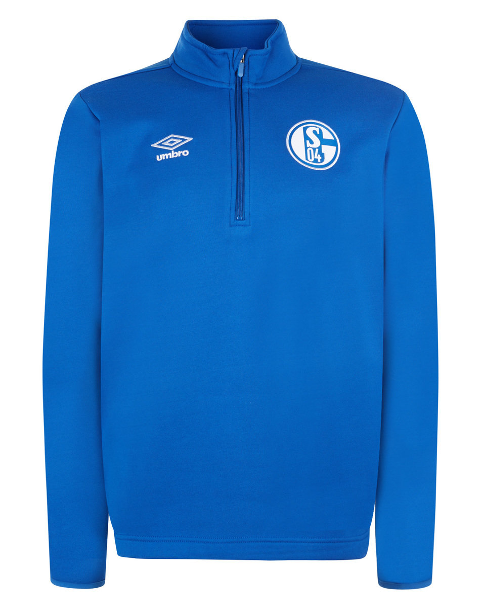 FC SCHALKE 04 HALF ZIP FLEECE