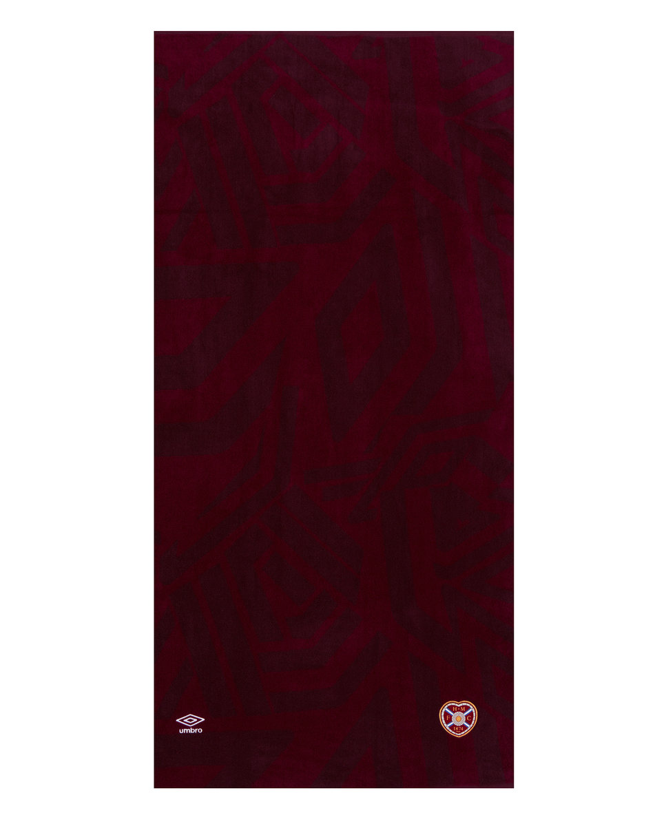 HEART OF MIDLOTHIAN F.C. POOLSIDE TOWEL