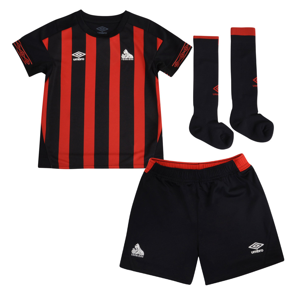 HUDDERSFIELD TOWN 18/19 AWAY INFANT KIT