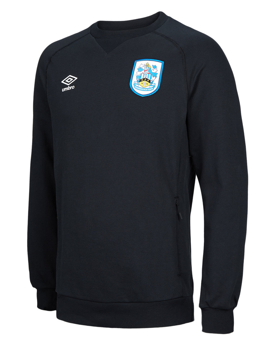 HUDDERSFIELD TOWN TRAVEL SWEAT TOP JUNIOR