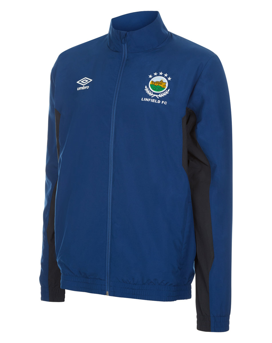 LINFIELD FC JUNIOR TRAINING WOVEN JACKET