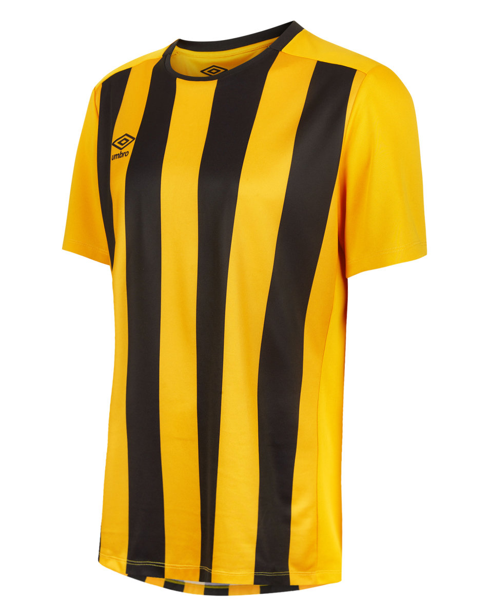 c8cdc12bdd72 MILAN STRIPE SS JERSEY JUNIOR Sv Yellow  Black