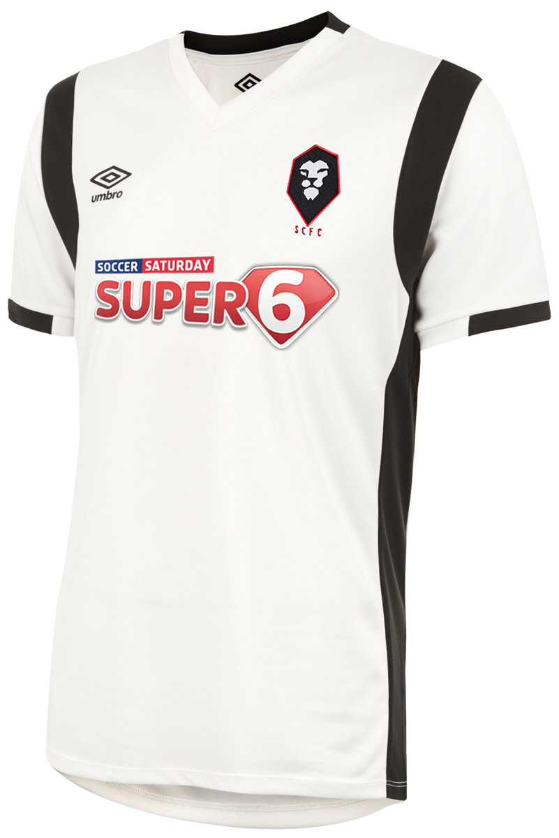 SALFORD CITY FC 17/18 AWAY SHIRT