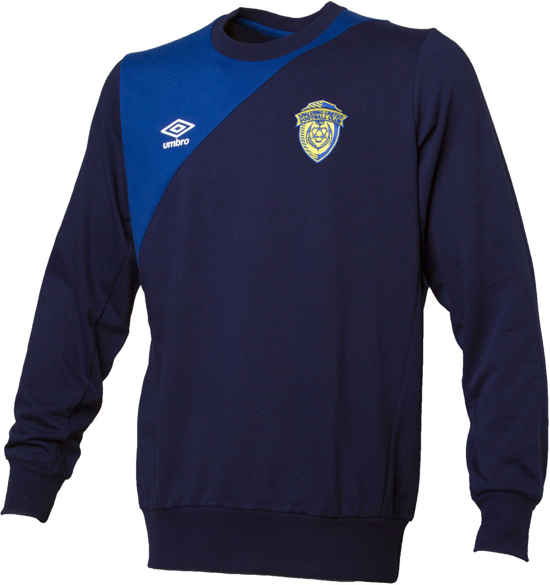 SPALDING UTD 16/17 JUNIOR TRAINING SWEAT