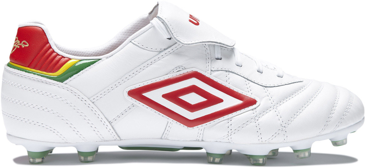 8f39780c1 Umbro Speciali Eternal Pro Leather Pepe Edition FG Football Boots White/Red  Image