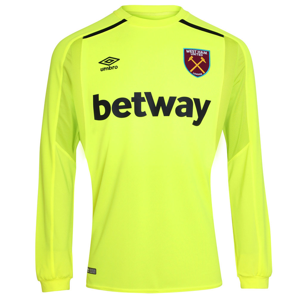 WEST HAM UTD 17/18 GK HOME SHIRT