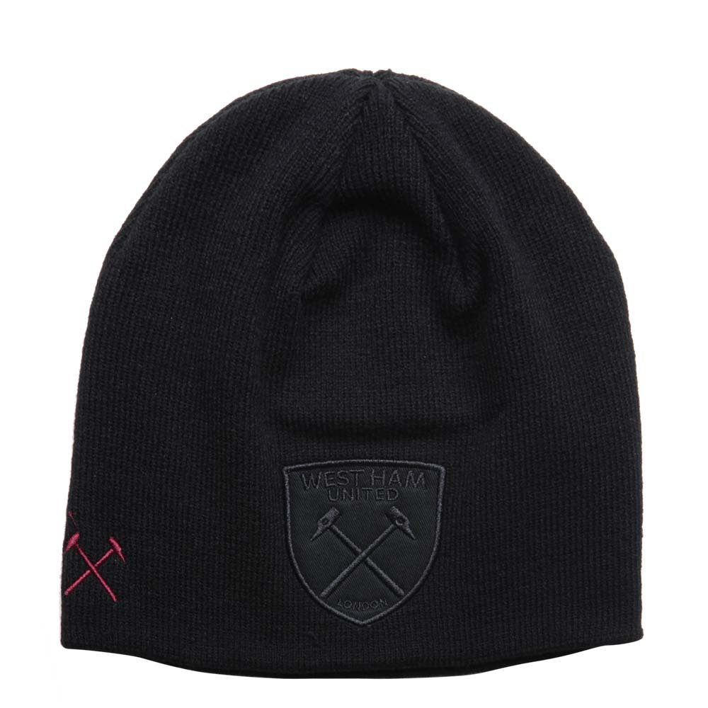 WEST HAM UTD 18 19 BLACKOUT BEANIE - West Ham United - Umbro fc1eb7b85fbf