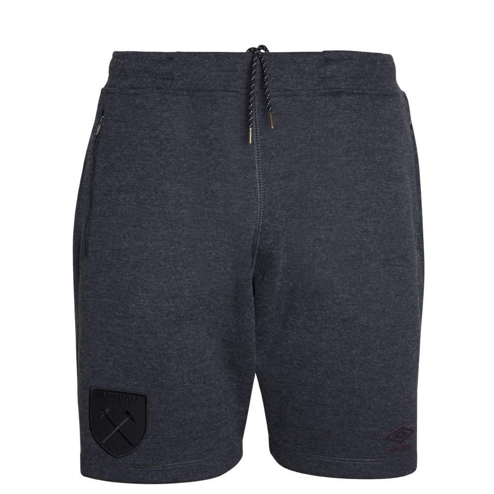WEST HAM UTD 18/19 BLACKOUT JUNIOR SHORT