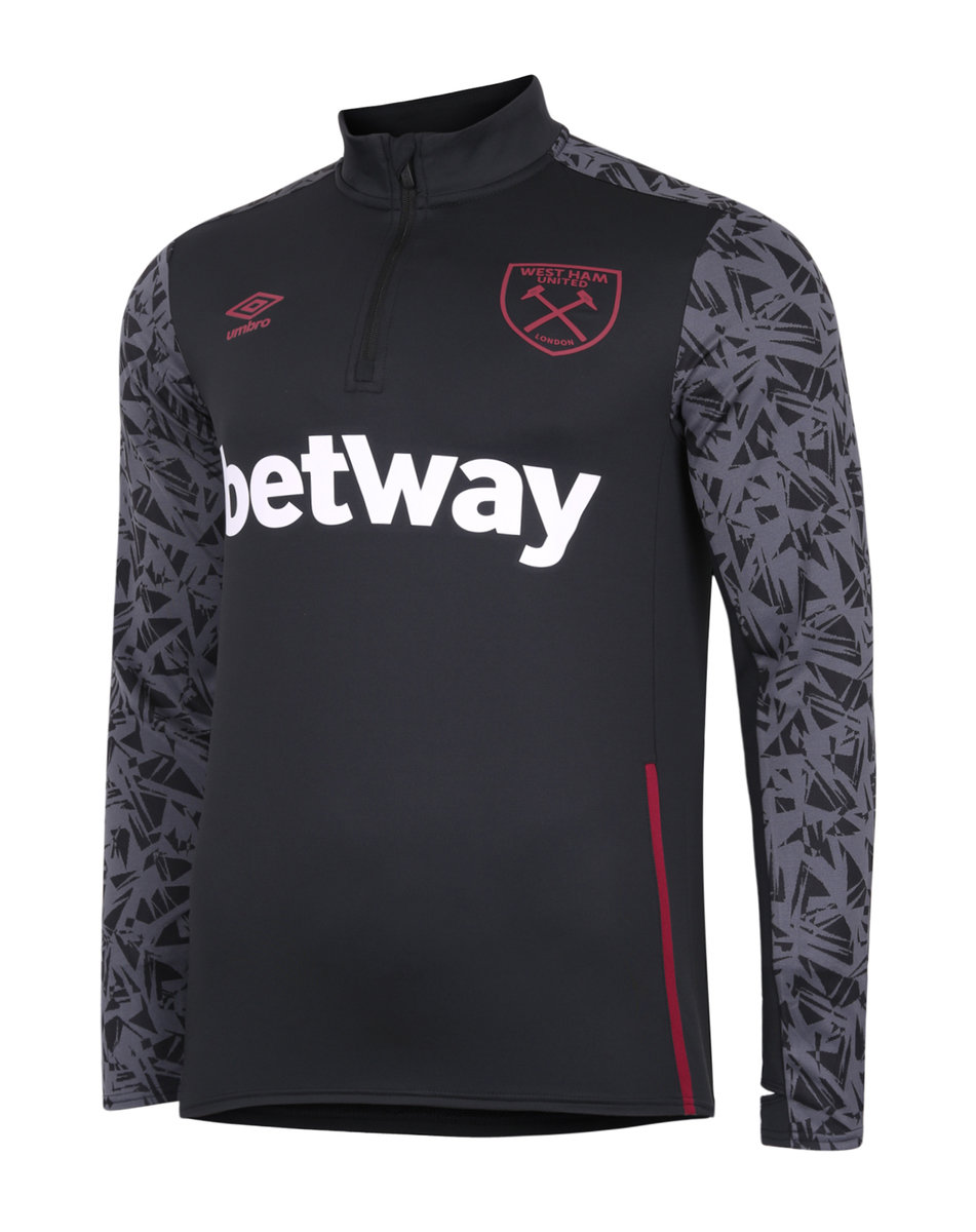 WEST HAM UTD 20/21 HALF ZIP TOP