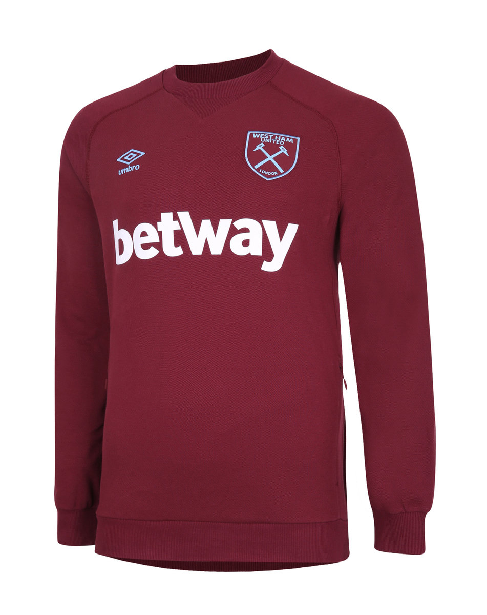 WEST HAM UTD TRAVEL SWEAT TOP