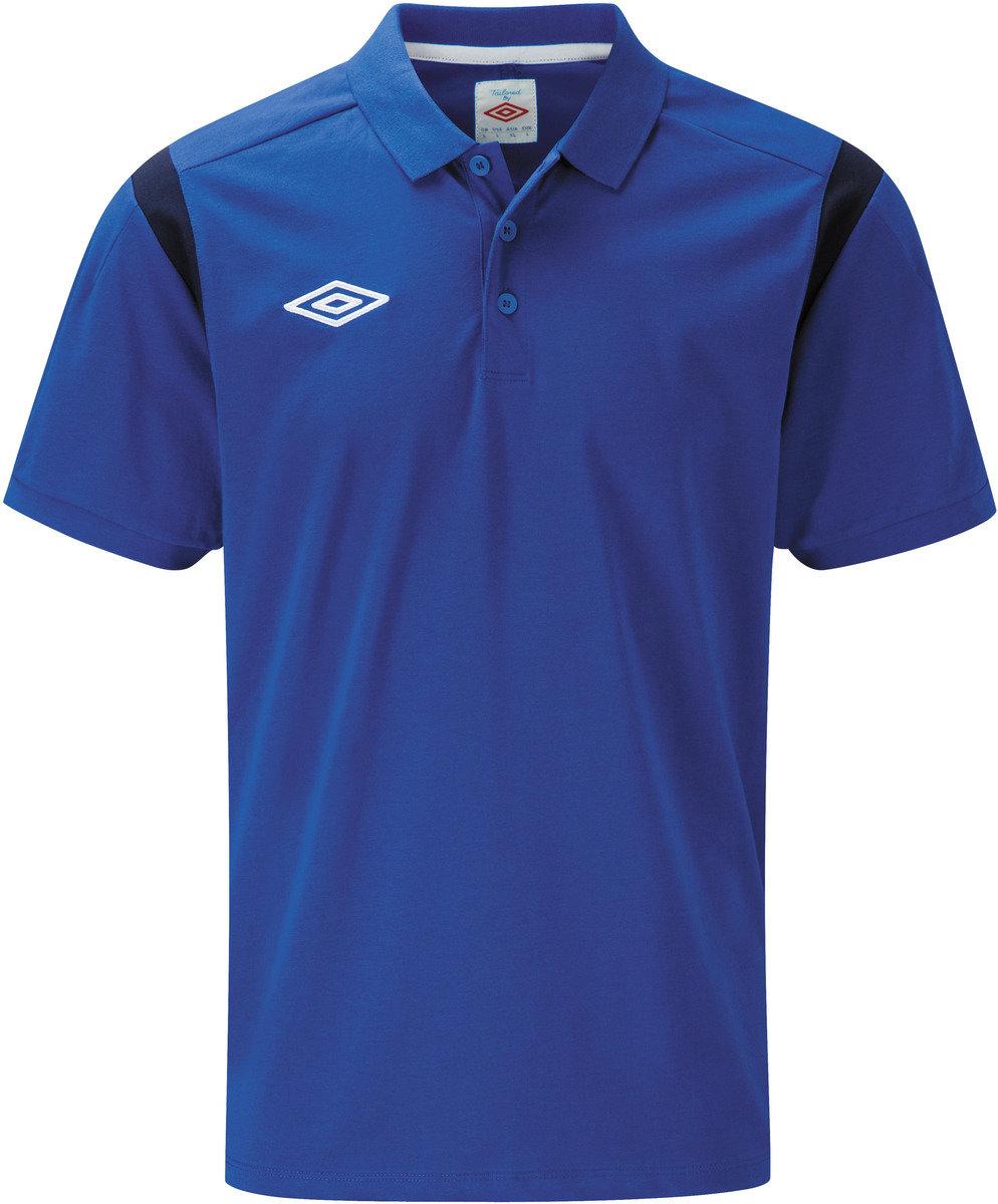 Black umbro t shirt - Cotton Polo Shirt Thumbnail