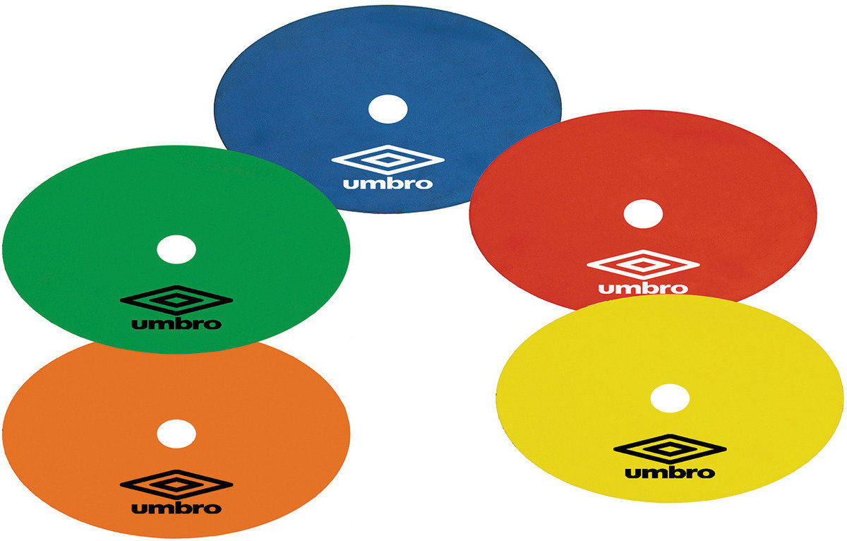 UMBRO FLAT MARKERS (10)