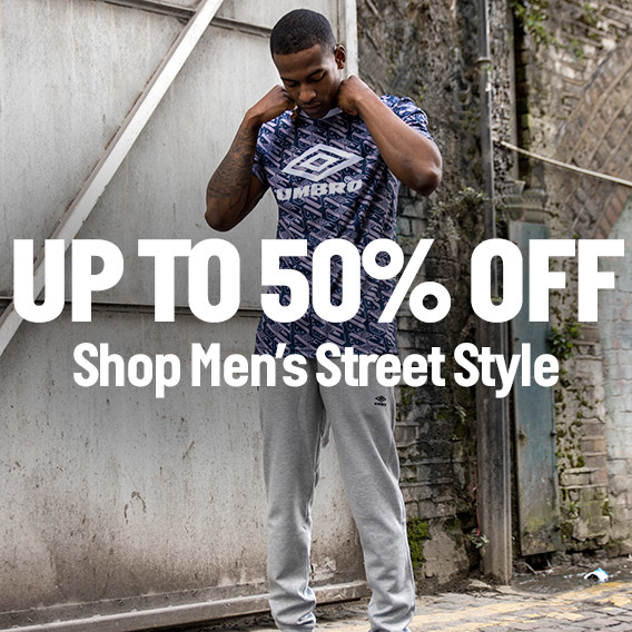 Shop Men's Street Style - Up to 50% Off