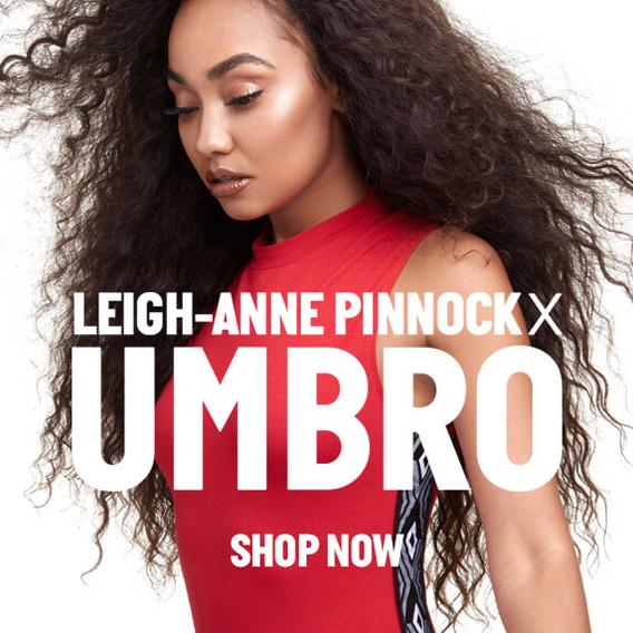 half off de165 6e319 Shop Leigh-Anne Pinnock x Umbro